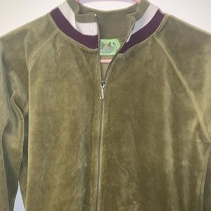 Juicy Couture Vintage Velour Tracksuit Zip-up